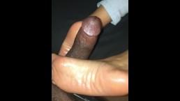 Pretty feet solejob tease