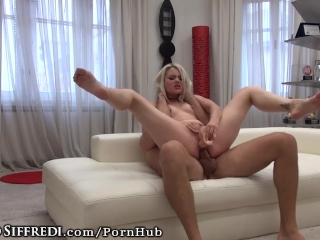 Rocco Siffredis Cock in Amateur Teen Ass & Dildo DPs her Pussy!