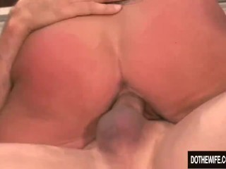 Big white ass pounded swinger brooke belle gets fucked hard, dothewife cuckold wife housewife hardcore blowjob