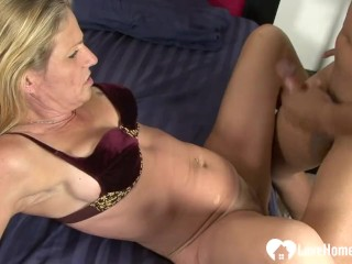 Slut gets shafted by her lovers hard cock