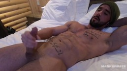 Maskurbate Straight Solo Male Masturbates To Sleep Even Better