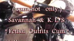 "B.B.B.preview: Savannah & K.L.S. ""Fetish Cum Shot(glass)"" with SloMo cumsho"