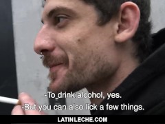 LatinLeche - Fucking A Straight Stud On The Street