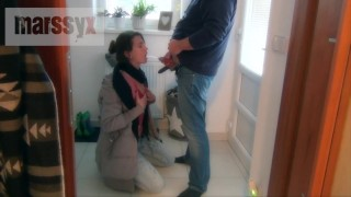 MarssyX – Piss drinking before shopping