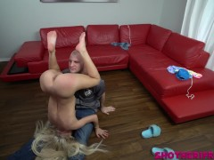 Kenzie Reeves in her very first ever Video! First time nervous and excited