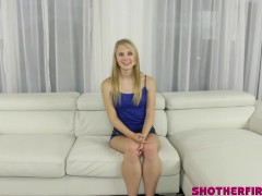 Lily Rader in her very first ever Video! First time nervous and excited!
