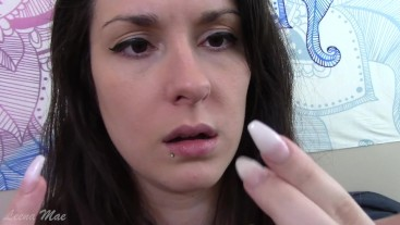 Picking My Nose With Long Nails