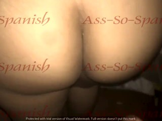 sexy latina with big ass filled with cum full video