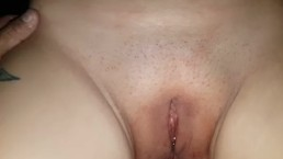 stranger playing with me after creampie my chubby ass