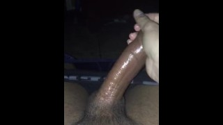 Jerking off and then using fleshlight till I cum
