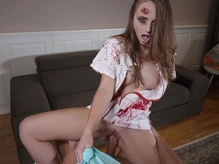 Facesitting website sexbabesvr 180 vr porn nurse from hell with lady bug, sexbabesvr halloween 180 v