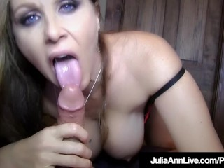 Get Your Cock Sucked By Milf Julia Ann In This POV Fantasy!
