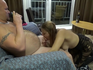 My Very First Extreme Gagging Blowjob -Dirty Julia