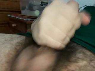 HandJob solo so fucking sexy