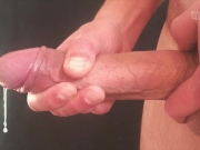 Huge slow motion cumshot! 240 FPS!