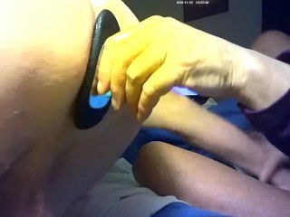 Gf fucked me with my butt plug!! Love it!