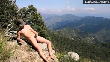 Beautiful Mountain Dildo Fuck - Lapjaz.com