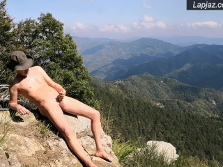Solo Male Mountain Dildo Fucking Nature - Lapjaz.com Ecosexual Ecoporn