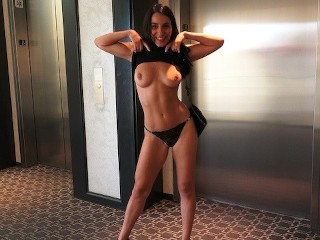 Diana doll redtube waiting the rooms key with my hot gf quickie in emergency stairs, big cock point