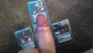 cumming on liliana of the veil card