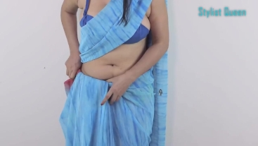 Saree Wear Perfectly to Look Slim just in 3 minutes - How to Drape Saree