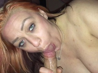 I love my mans dick in my wet mouth