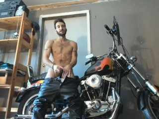 Jesse Prather Goes Biker by Jesse Prather @manyvids swww.manyvids.co