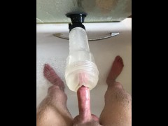 Teen Shower Fleshlight Fuck