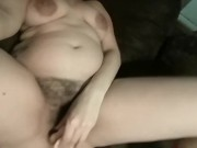 Milf First Time Using New Anal Plug & Dildo DP Double Penetration