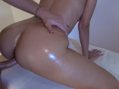 Happy Ending Massage For Hot Teen - Intense Female Orgasm - MASSAGE2018