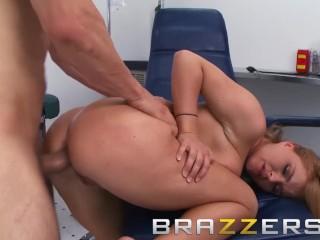 BRAZZERS – Mischievous Nurse Krissy Lynn loves anus