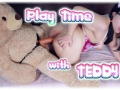 Teddybär Humping Orgasmus