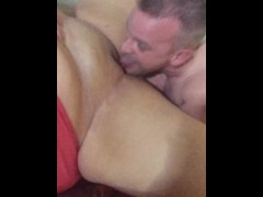 Making out, getting my pussy eaten, and fucking
