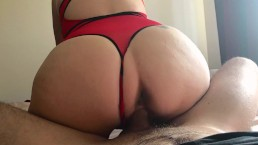 OMG there is so much CUM on my ASS!