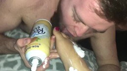 Toe Sucking Foreplay With Whip Cream!