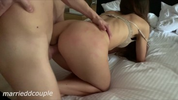 Finding a Horny Teen in the Neighbour Room and Waking Her Up With My Dick