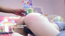 Mario Party, Pussy Pounding, Big Booty Spanking - KittenDaddy