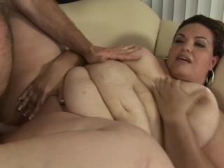 Babe big boob shower