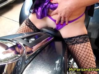 Porn milf on black