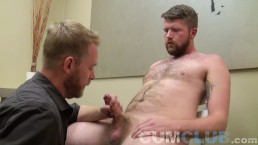 CumClub: Swallowing Jesse's Load