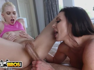 BANGBROS – Chloe Cherry And Kendra Lust Tag Team Lucky Fucker, JECL