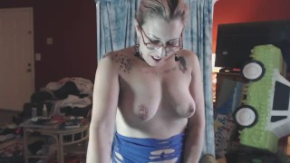 She needed the money- CUTE GIRL OBEYS GUYS ON SNAPCHAT & LIVE STREAM