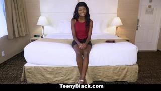 TeenyBlack - Kandi Monaee Slobbers On Cock Pornhub.com pussy