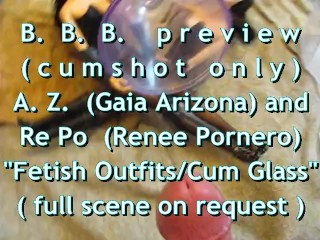 "B.B.B.preview AZ & RePo ""Fetish Outfits Cum Receptacle"" no SloMo AVI highde"