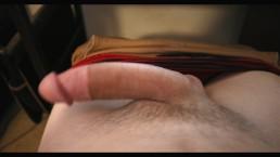 Teen Masturbation Jerking Off POV shaved cock