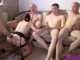 Private gangbang party