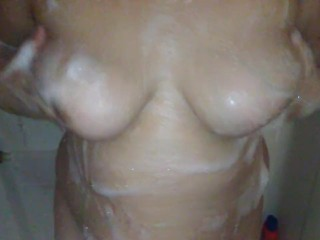 Bbw Hot Soapy Shower Play