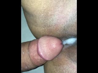 Tight pussy so good made him cum fast