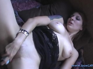 Horny Persia Knight Masturbating On My Balcony...Gets CAUGHT By My Camera!