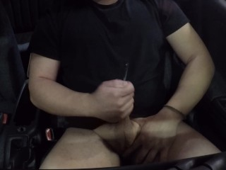 part II vocal guy playing in car orgasm JOI